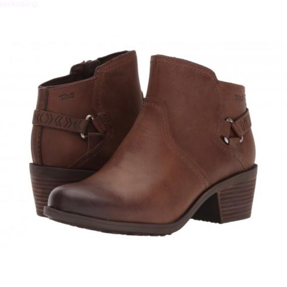 ff4b97f40 Teva Shoes | Foxy Wp Brown Womens Boots | Poshmark